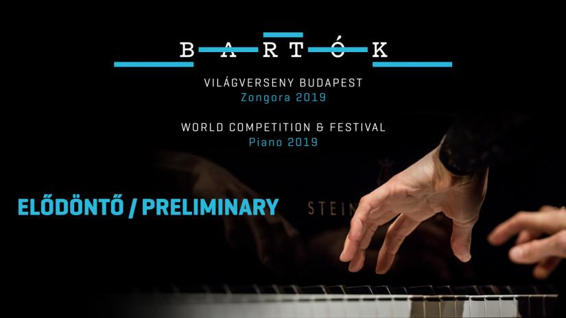 Bartók World Competition & Festival – Piano 2019   Bartok